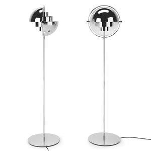 3D gubi multi-light floor lamp model