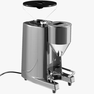 realistic espresso grinder grinde 3D model