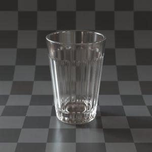 3D glass portuguese galao