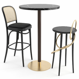 3D hocker stool wiener gtv