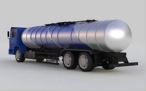 liquefied trucks gasoline diesel model
