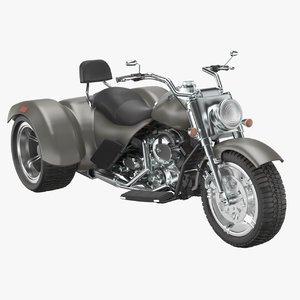 motorbike bike moto 3D model