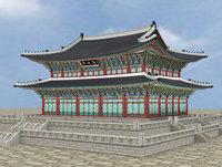 Geunjeongjeon Hall in Gyeongbokgung Palace OF KOREA