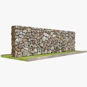 wall x2 3D model