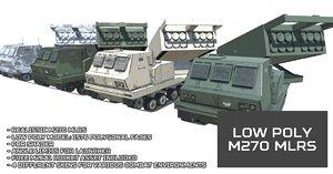 3D unity m270 mlrs model