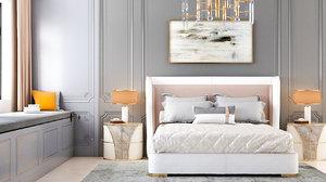 bedroom avangarde 3D