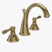 Moen Kingsley T6125P Two-Handle High Arc Bathroom Faucet Polished Brass