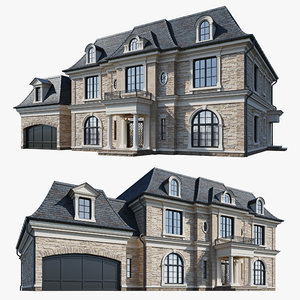 classic house 3D