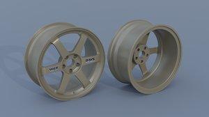 volk racing te37 3D model