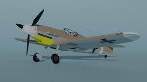 bf 109 f4 trop 3D model