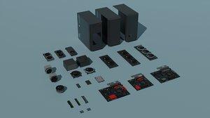 3D computer parts