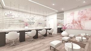 3D cosmetic interior