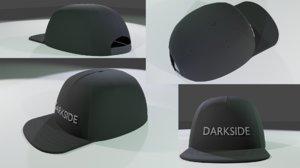 3D cap style model