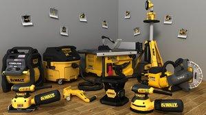 dewalt 9 tools -2 3D