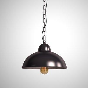 hanging lamp 2 1 3D model