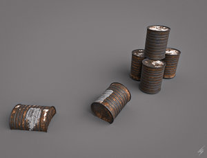 3D metal model