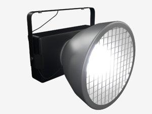 3D floodlight lamp lights