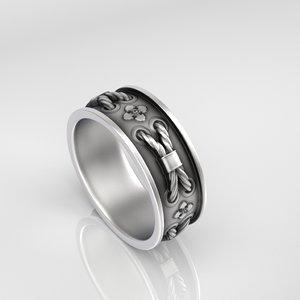 3D ring stitch