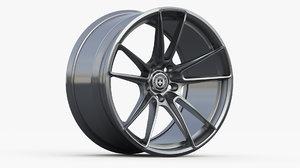 hre wheel ff04 3D model