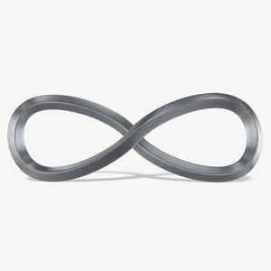 3D model infinity loop