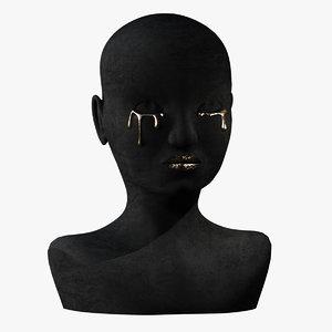 3D model golden tears