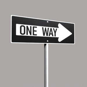 street sign way 3d max