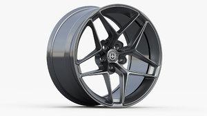 hre wheel ff11 3D model