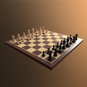chess set 3D