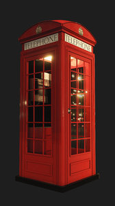 london telephone k2 3D model