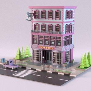 toysstore 01 3D model