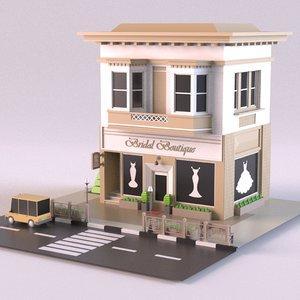 bridal 01 3D model