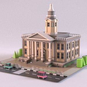 3D courthouse 01