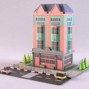 3D model pub