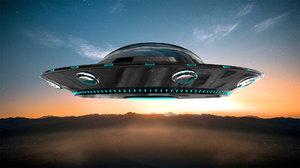 ufo spacecraft 3D model