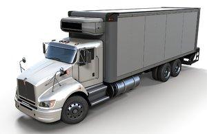 t440 box truck 3D model