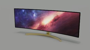 curved monitor ultrawide 3D