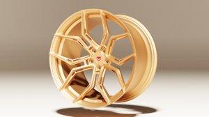 3D vossen rim model