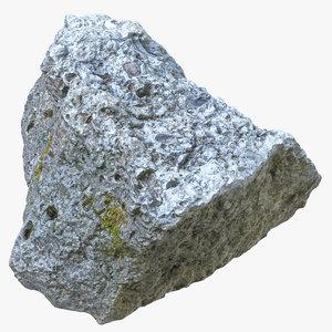 rock 05 3D model