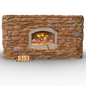 3D stone oven