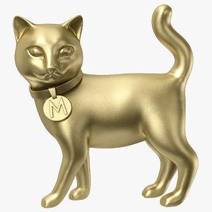 monopoly cat 3D model