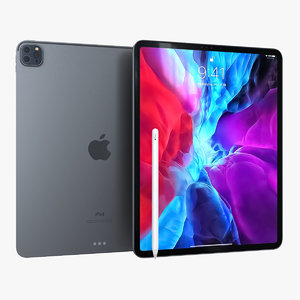 3D apple ipad pro 12