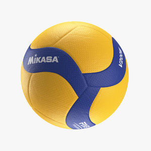 mikasa v200w ball volleyball 3D model