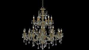 3D model chandelier luxury