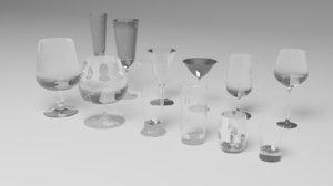set glasses model