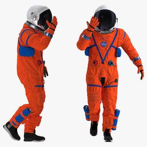 3D astronaut advanced crew escape