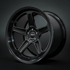 3D dodge demon srt wheels