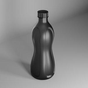 bottles kitchenware bottlecap 3D model