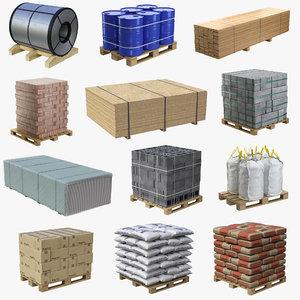 3D construction materials model