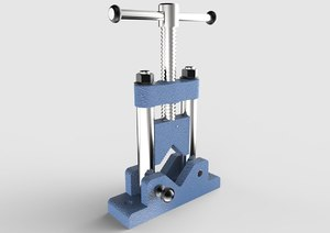 3D pipe vise