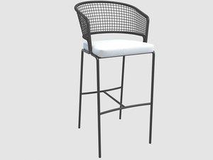 3D trib stool ctr